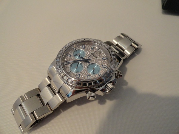RepliqueFrance-Rolex-Daytona-Diamonds-Réplique-Montre