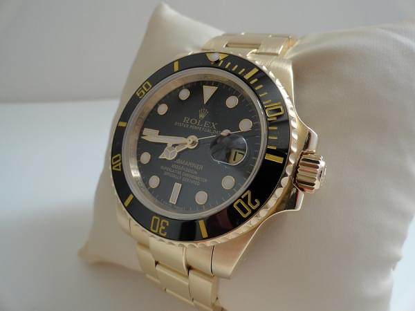 Copie Rolex Submariner Or Jaune