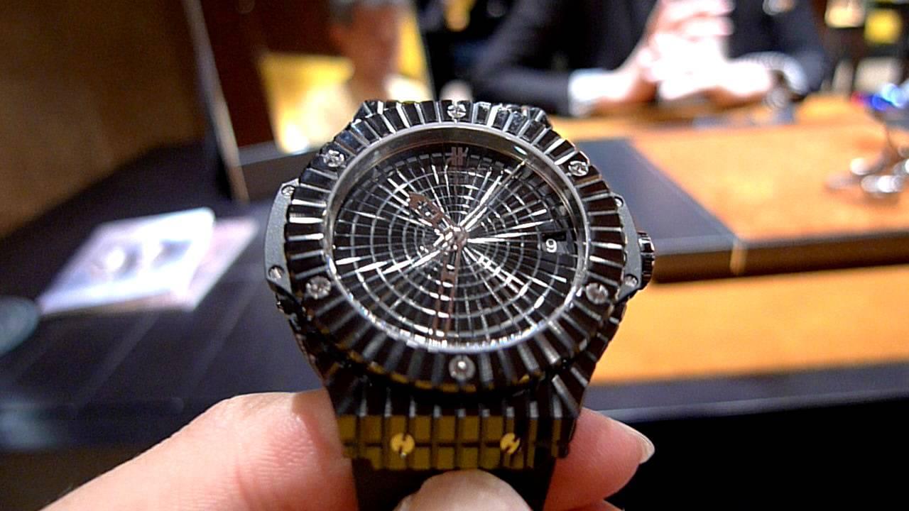 Hublot Black Caviar Replique Montre Pas Cher