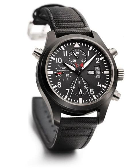 Copie IWC Pilot Double Chronograph Edition