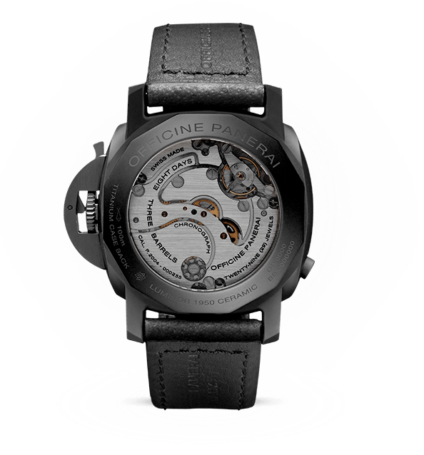 Replique-Panerai-Luminor-Ceramica-Mouvement-Repliquefrance