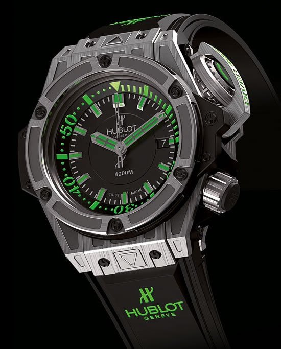 réplique hublot king power diver 4000m