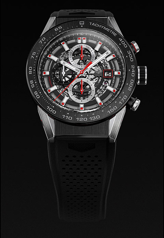 tag heuer carrera calibre heuer 01 copie montre