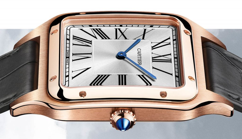 Replique Cartier Santos Dumont XL Hand Wind 2020 Or
