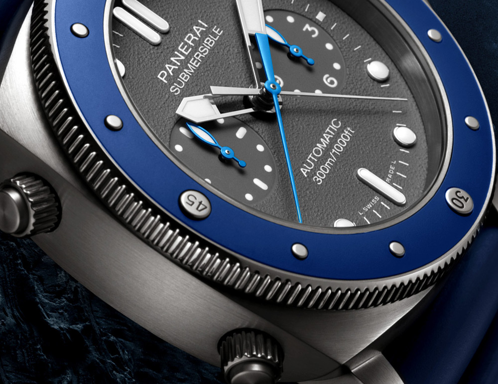 Replique Panerai Luminor Submersible Chrono Guillaume Nery Edition
