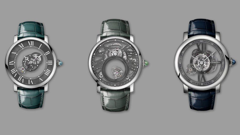 Copie Montre Cartier Rotonde de Cartier Precious Icons Set