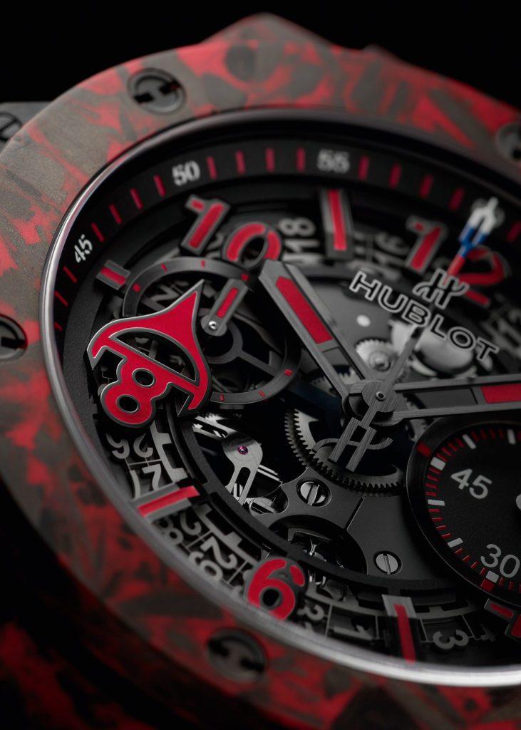 Replique Hublot Big Bang Unico Red Carbon Alex Ovechkin