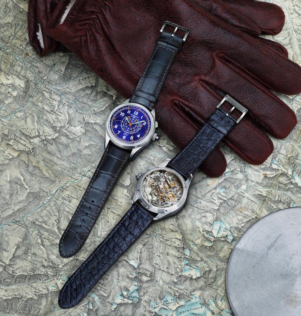 Replique Montblanc 1858 Split Second Chronograph Bleue